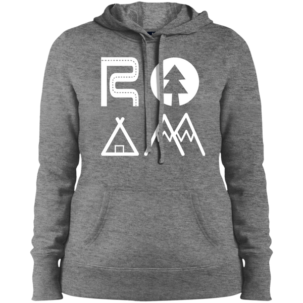 Roam The World Hooded Sweatshirt - The Art Of Travel Store: Travel Accessories and Travel T-Shirts