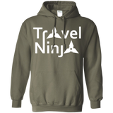 Travel Ninja Pullover Hoodie - The Art Of Travel Store: Travel Accessories, Travel Clothes, Travel Gear