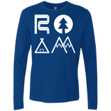 ROAM Nomad Men's Long Sleeve T-Shirt - The Art Of Travel Store: Travel Accessories, Travel Clothes, Travel Gear