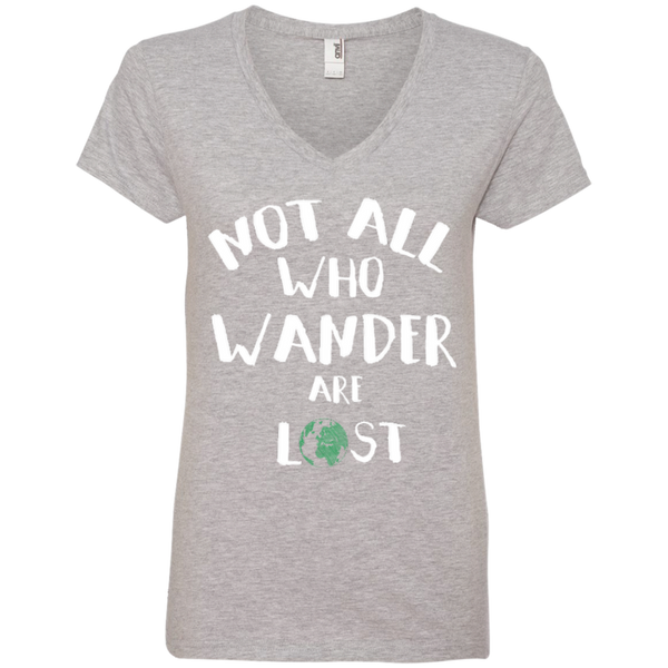 Not All Who Wander are Lost Travel T-Shirt - The Art Of Travel Store: Travel Accessories and Travel T-Shirts
