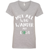 Not All Who Wander are Lost Travel T-Shirt - The Art Of Travel Store: Travel Accessories, Travel Clothes, Travel Gear