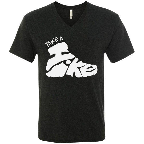 Hiking Travel Men's V-Neck T-Shirt - The Art Of Travel Store: Travel Accessories, Travel Clothes, Travel Gear
