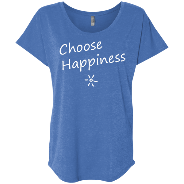 Choose Happiness Women's Travel T-Shirt - The Art Of Travel