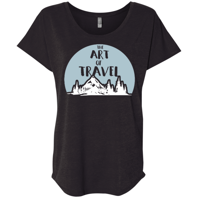 The Art of Travel Women T-Shirt - The Art Of Travel Store: Travel Accessories and Travel T-Shirts