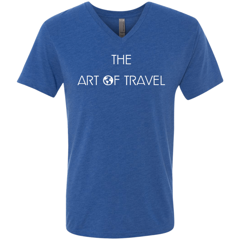 The Art of Travel Men's V-Neck T-Shirt - The Art Of Travel
