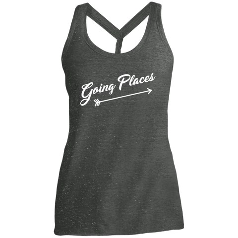 Going Places Women Travel Fitness Tank - The Art Of Travel Store: Travel Accessories, Travel Clothes, Travel Gear