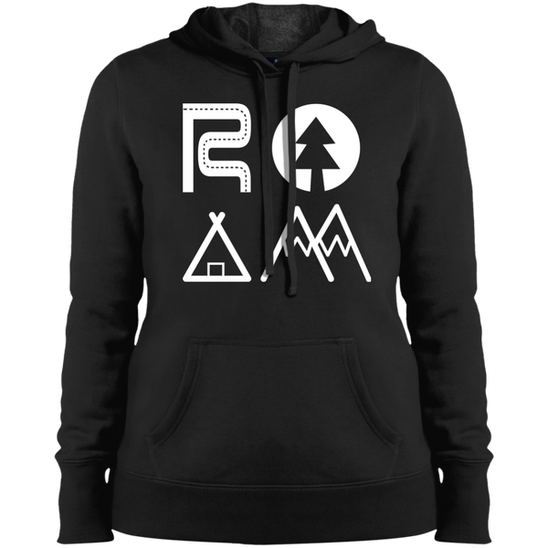 Roam The World Hooded Sweatshirt - The Art Of Travel Store: Travel Accessories, Travel Clothes, Travel T-Shirts