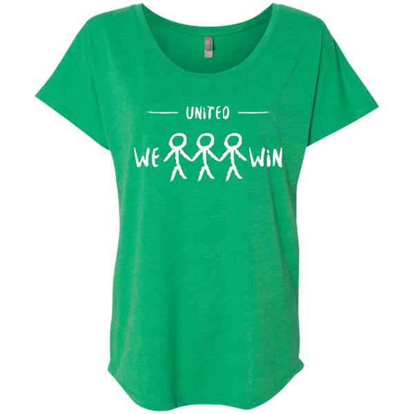 United We Win Women's Travel T-Shirt - The Art Of Travel Store: Travel Accessories and Travel T-Shirts