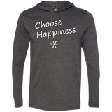 Choose Happiness Men's Travel T-Shirt Hoodie - The Art Of Travel Store: Travel Accessories, Travel Clothes, Travel Gear