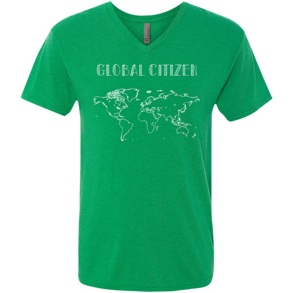 World Citizen Men's Travel V-Neck Tee - The Art Of Travel Store: Travel Accessories and Travel T-Shirts