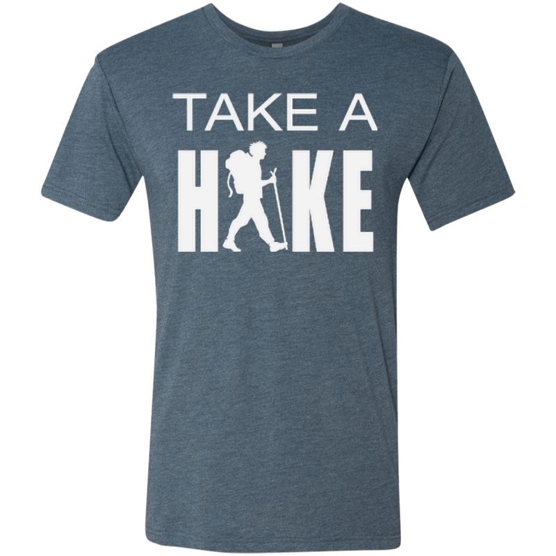 Take a Hike Men's Hiking Travel Triblend Tee - The Art Of Travel Store: Travel Accessories and Travel T-Shirts