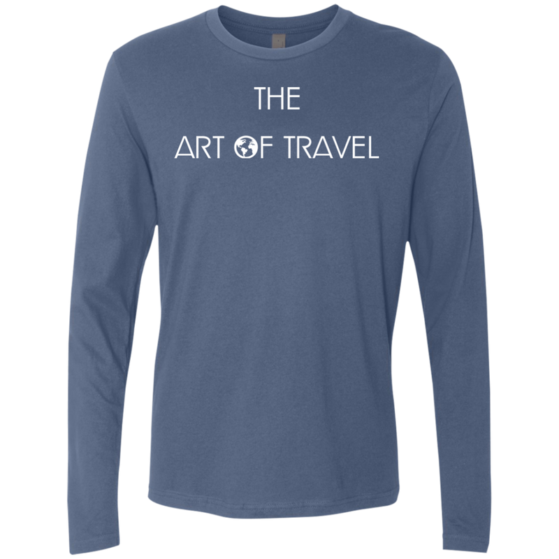 The Art of Travel Men's Long Sleeve T-Shirt - The Art Of Travel Store: Travel Accessories and Travel T-Shirts