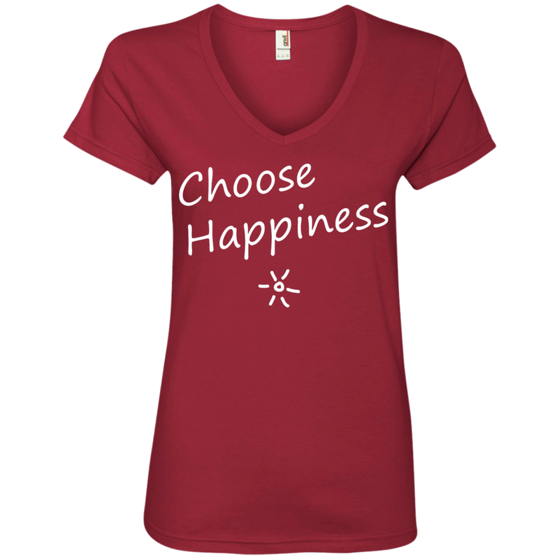 Choose Happiness Women's Travel T-Shirt - The Art Of Travel Store: Travel Accessories, Travel Clothes, Travel T-Shirts