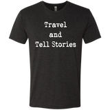 Travel and Tell Stories Men's Wanderlust Adventure Tee - The Art Of Travel Store: Travel Accessories, Travel Clothes, Travel Gear