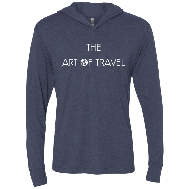 The Art Of World Travel Hooded T-Shirt Hoodie - The Art Of Travel Store: Travel Accessories and Travel T-Shirts