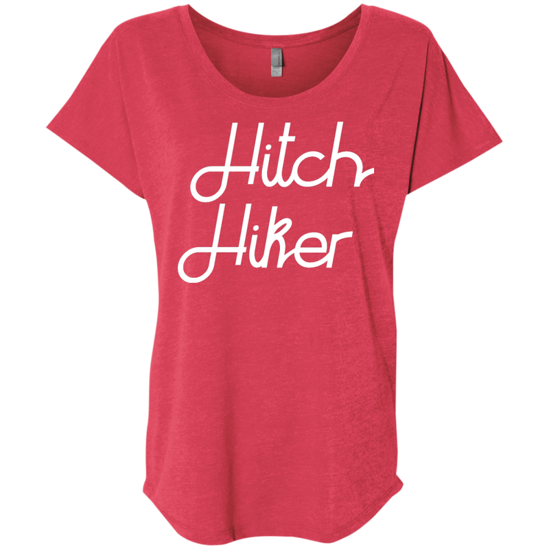 Hitch Hiker Travel T-Shirt - The Art Of Travel Store: Travel Accessories and Travel T-Shirts