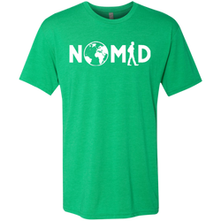 Nomad Wanderer Men's Travel T-Shirt - The Art Of Travel Store: Travel Accessories and Travel T-Shirts