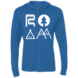 ROAM Adventure Travel Camping Hooded T-Shirt Hoodie - The Art Of Travel Store: Travel Accessories, Travel Clothes, Travel Gear
