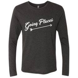 Going Places Men's Long Sleeve Travel T-Shirt - The Art Of Travel Store: Travel Accessories and Travel T-Shirts