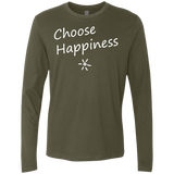 Choose Happiness Men's Long Sleeve Travel T-Shirt - The Art Of Travel Store: Travel Accessories, Travel Clothes, Travel Gear