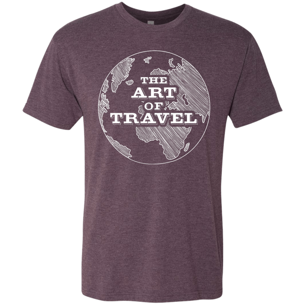 The Art of Travel Men's T-Shirt - The Art Of Travel Store: Travel Accessories and Travel T-Shirts