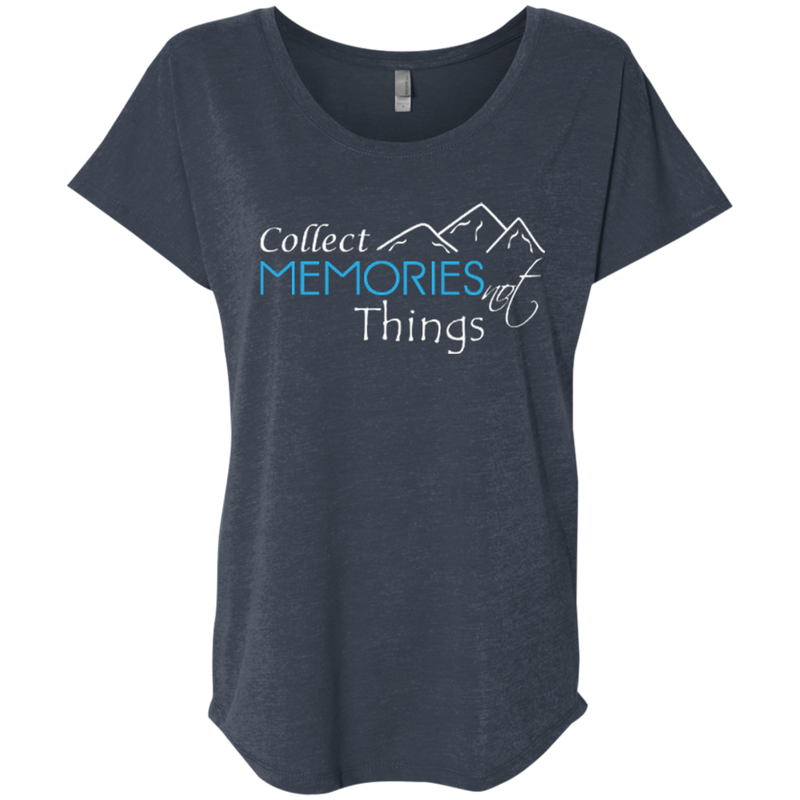Collect Memories Not Things Travel T-Shirt - The Art Of Travel