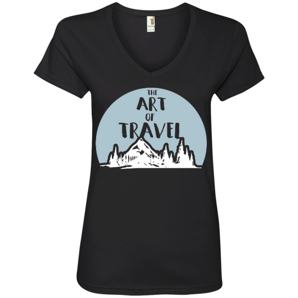 The Art of Travel Women T-Shirt - The Art Of Travel Store: Travel Accessories, Travel Clothes, Travel T-Shirts