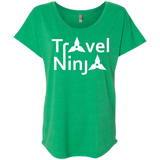 Travel Ninja Wanderlust Women's T-Shirt - The Art Of Travel Store: Travel Accessories, Travel Clothes, Travel Gear