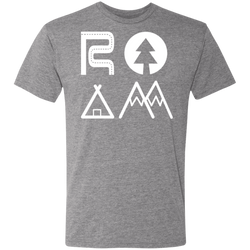 ROAM Men's Triblend T-Shirt - The Art Of Travel Store: Travel Accessories and Travel T-Shirts
