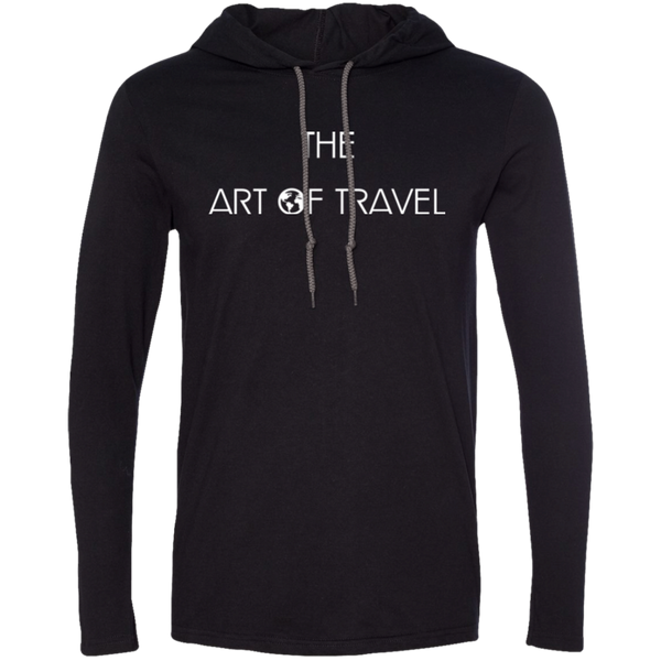 The Art of Travel Men's T-Shirt Hoodie - The Art Of Travel Store: Travel Accessories and Travel T-Shirts