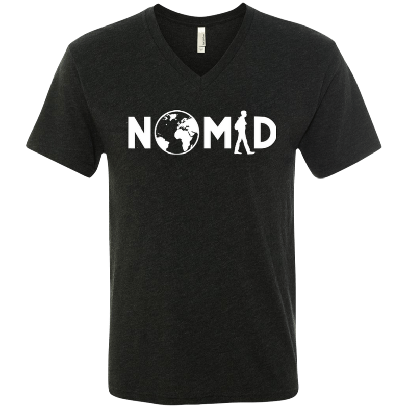 Nomad Men's Travel V-Neck T-Shirt - The Art Of Travel Store: Travel Accessories and Travel T-Shirts