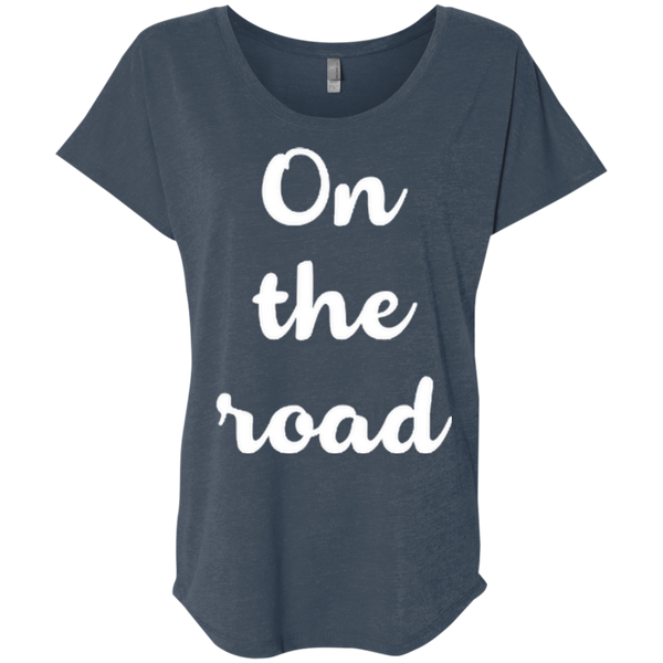 On The Road Women's Travel T-Shirt - The Art Of Travel