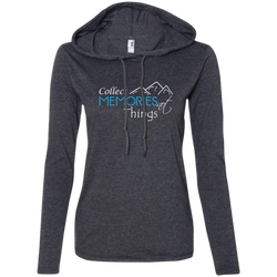 Collect Memories Not Things Ladies' T-Shirt Hoodie - The Art Of Travel Store: Travel Accessories and Travel T-Shirts