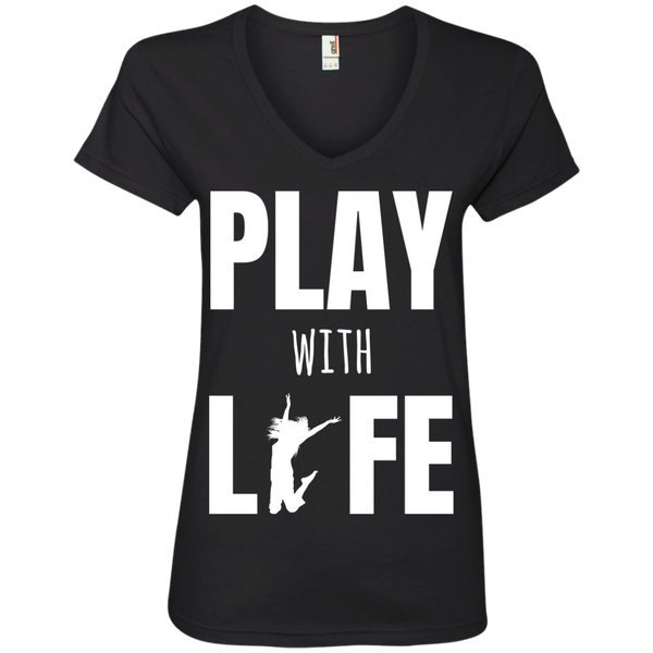 Play with Life Women's Travel T-Shirt - The Art Of Travel Store: Travel Accessories, Travel Clothes, Travel T-Shirts
