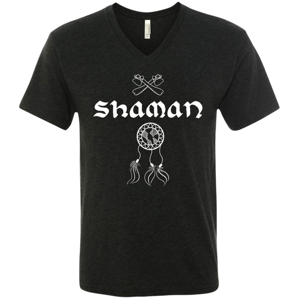 Shaman Wander Men's Travel V-Neck T-Shirt - The Art Of Travel Store: Travel Accessories and Travel T-Shirts