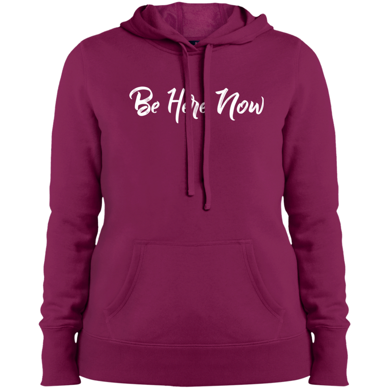 Be Here Now Women's Pullover Hooded Travel Sweatshirt - The Art Of Travel Store: Travel Accessories and Travel T-Shirts