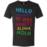 Hello Aloha Men's Travel T-Shirt - The Art Of Travel Store: Travel Accessories, Travel Clothes, Travel Gear
