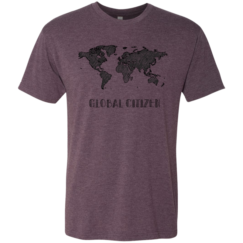 I Am A Global Citizen Men's Travel T-Shirt - The Art Of Travel Store: Travel Accessories and Travel T-Shirts