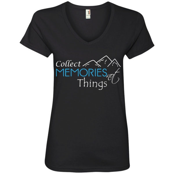 Collect Memories Not Things Travel T-Shirt - The Art Of Travel Store: Travel Accessories, Travel Clothes, Travel T-Shirts