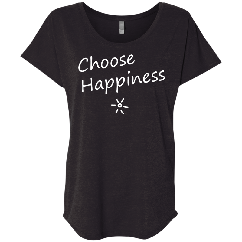 Choose Happiness Women's Travel T-Shirt - The Art Of Travel Store: Travel Accessories and Travel T-Shirts