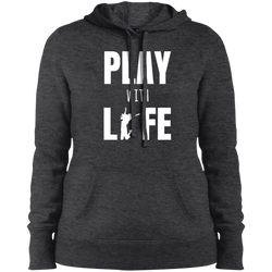 Play with Life Women Pullover Hooded Sweatshirt - The Art Of Travel Store: Travel Accessories and Travel T-Shirts
