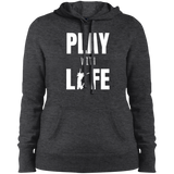 Play with Life Women Pullover Hooded Sweatshirt - The Art Of Travel Store: Travel Accessories, Travel Clothes, Travel Gear