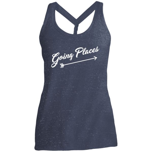 Going Places Women Travel Fitness Tank - The Art Of Travel Store: Travel Accessories, Travel Clothes, Travel T-Shirts