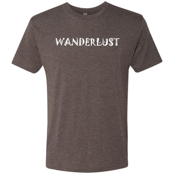 Wanderlust Wander Wanderer Men's Travel T-Shirt - The Art Of Travel Store: Travel Accessories and Travel T-Shirts