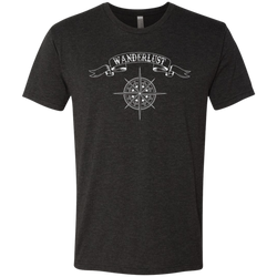 Wanderlust Men's Travel T-Shirt - The Art Of Travel Store: Travel Accessories and Travel T-Shirts