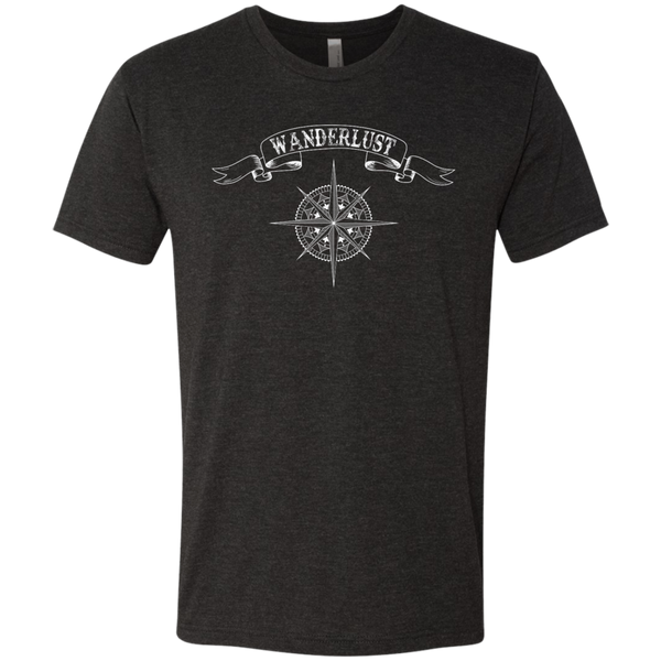 Wanderlust Men's Travel T-Shirt - The Art Of Travel