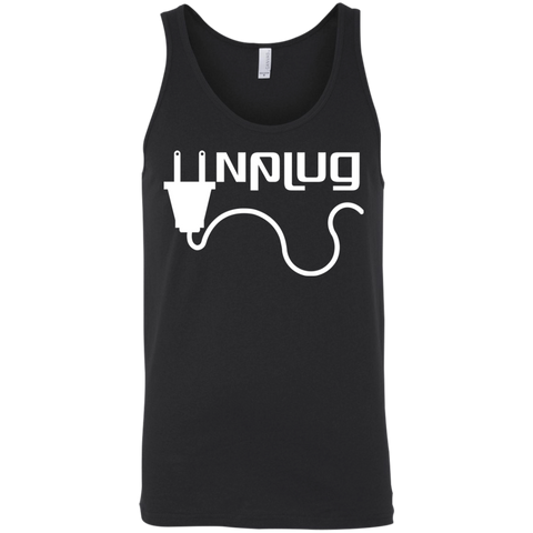 Unplug the World Men's Travel Tank - The Art Of Travel Store: Travel Accessories, Travel Clothes, Travel Gear