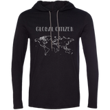 Global Citizen Mens T-Shirt Hoodie - The Art Of Travel Store: Travel Accessories, Travel Clothes, Travel Gear