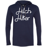 Hitchhiker Men's Traveler T-Shirt Hoodie - The Art Of Travel Store: Travel Accessories, Travel Clothes, Travel Gear