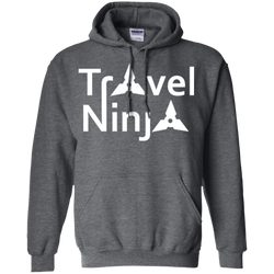 Travel Ninja Pullover Hoodie - The Art Of Travel Store: Travel Accessories, Travel Clothes, Travel T-Shirts